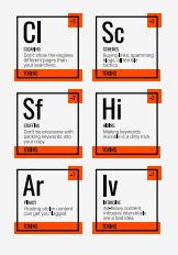 периодическая таблица факторов ранжирования SEL группа токсических факторов