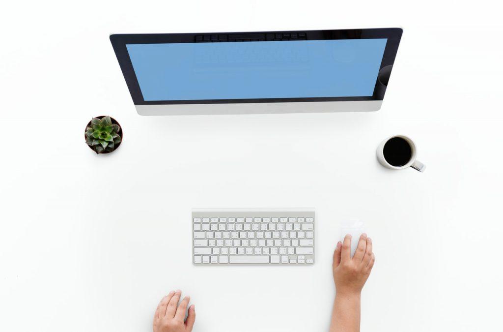 монитор и мышка для обозначения zero-click сессий