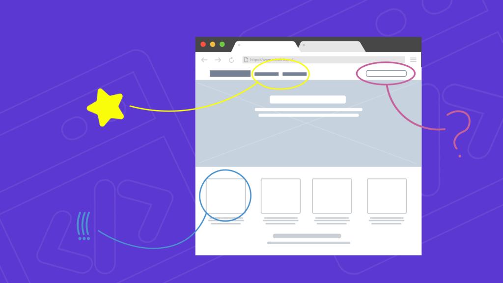 8 элементов веб-дизайна 2021