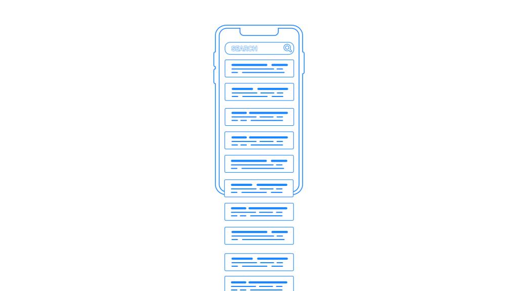 Мобильный поиск Google  получает бесконечную прокрутку
